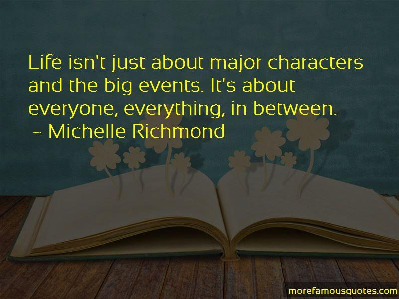 Michelle Richmond Quotes Pictures 2