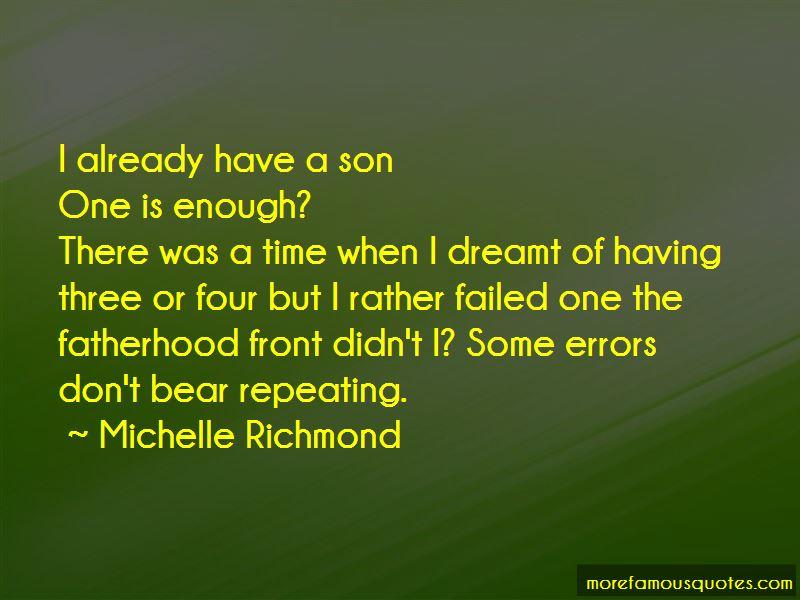 Michelle Richmond Quotes