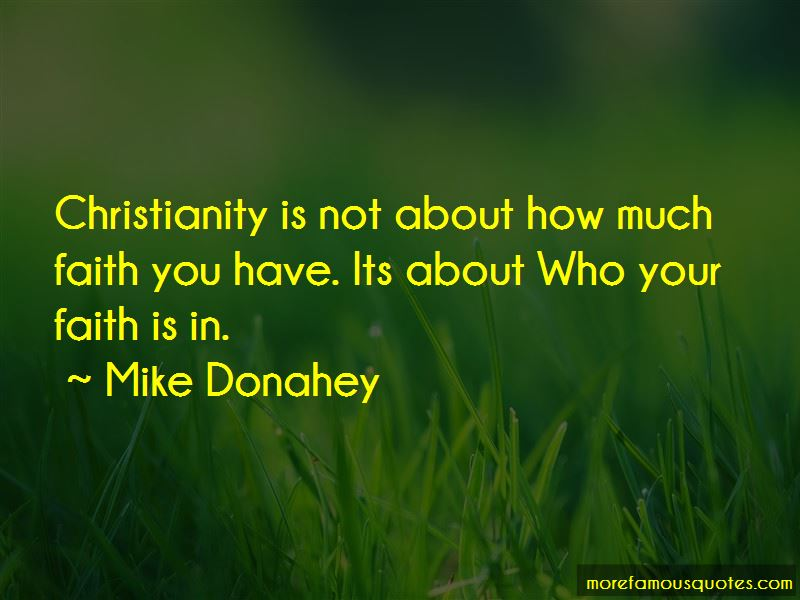 Mike Donahey Quotes