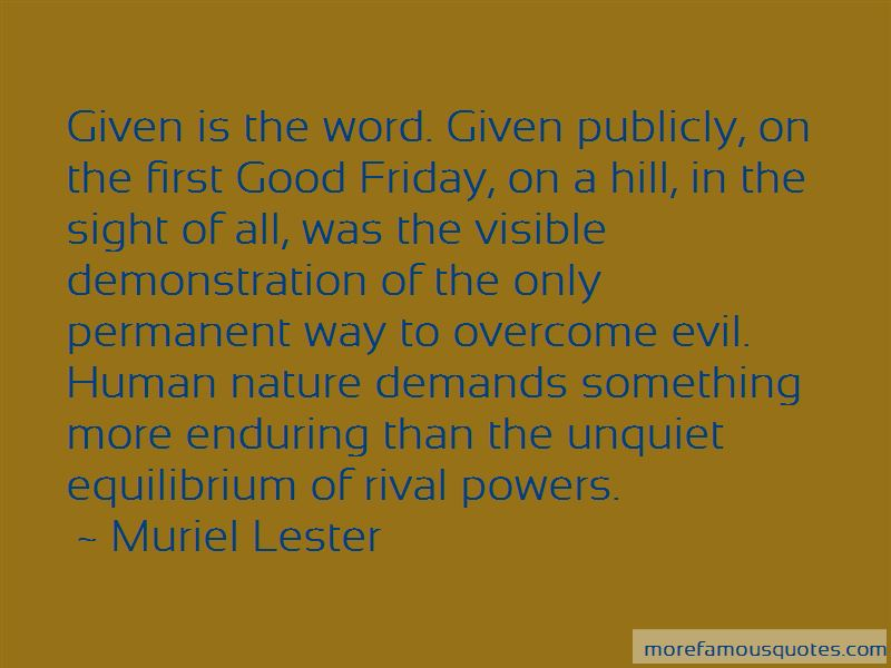 Muriel Lester Quotes Pictures 3