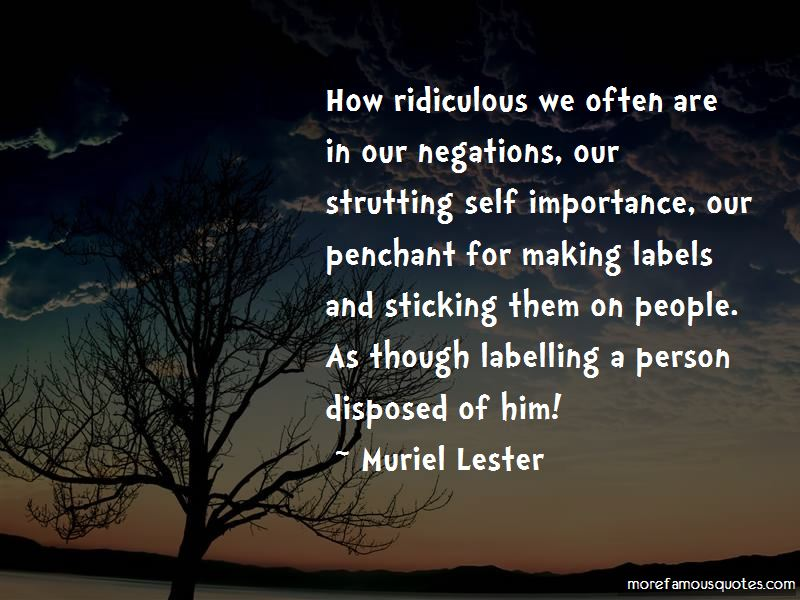 Muriel Lester Quotes