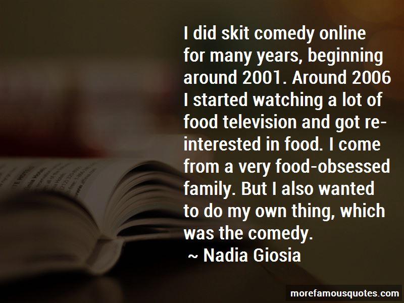 Nadia Giosia Quotes Pictures 2