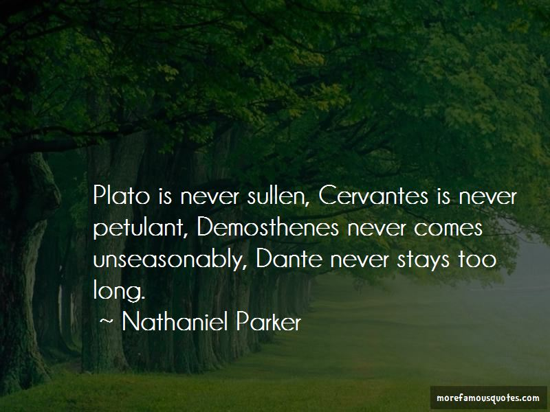 Nathaniel Parker Quotes