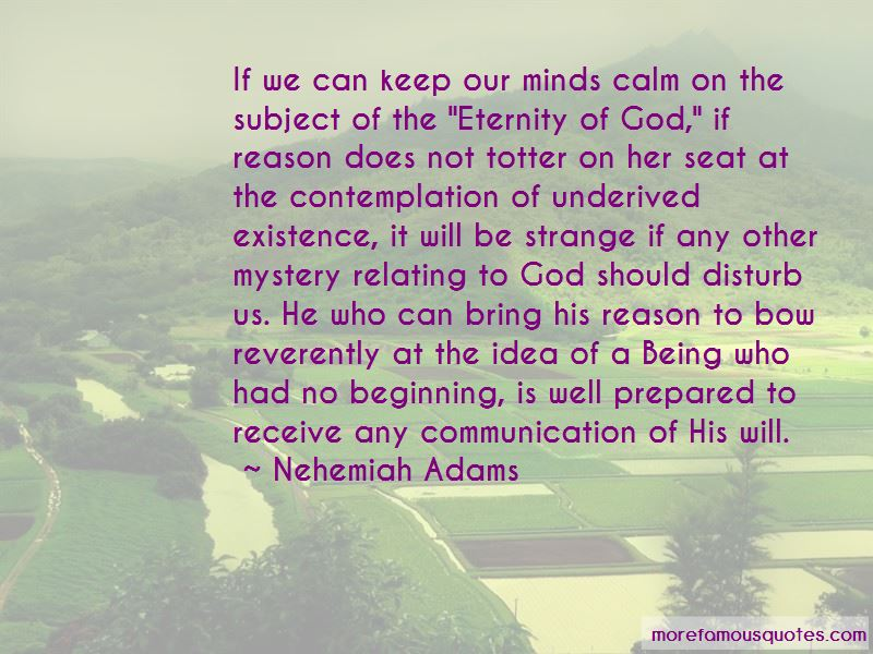 Nehemiah Adams Quotes Pictures 3