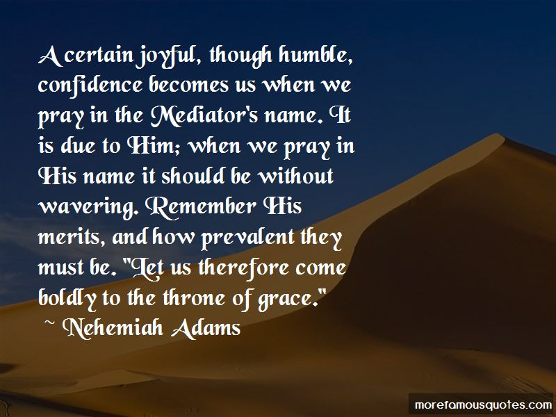 Nehemiah Adams Quotes