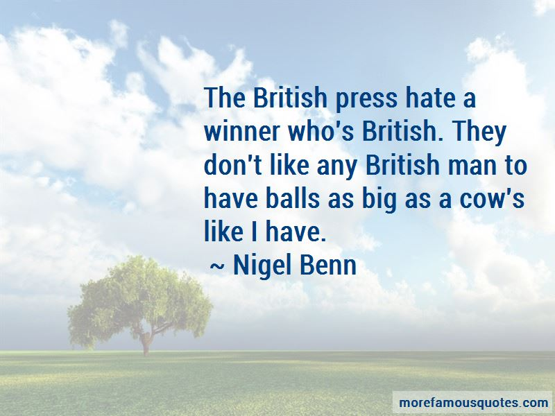 Nigel Benn Quotes Pictures 2