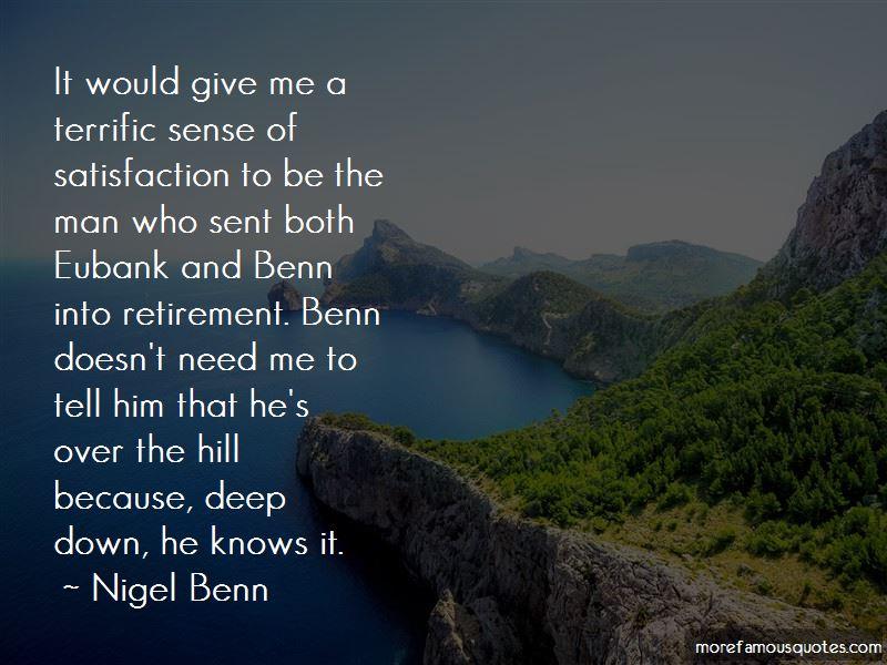 Nigel Benn Quotes