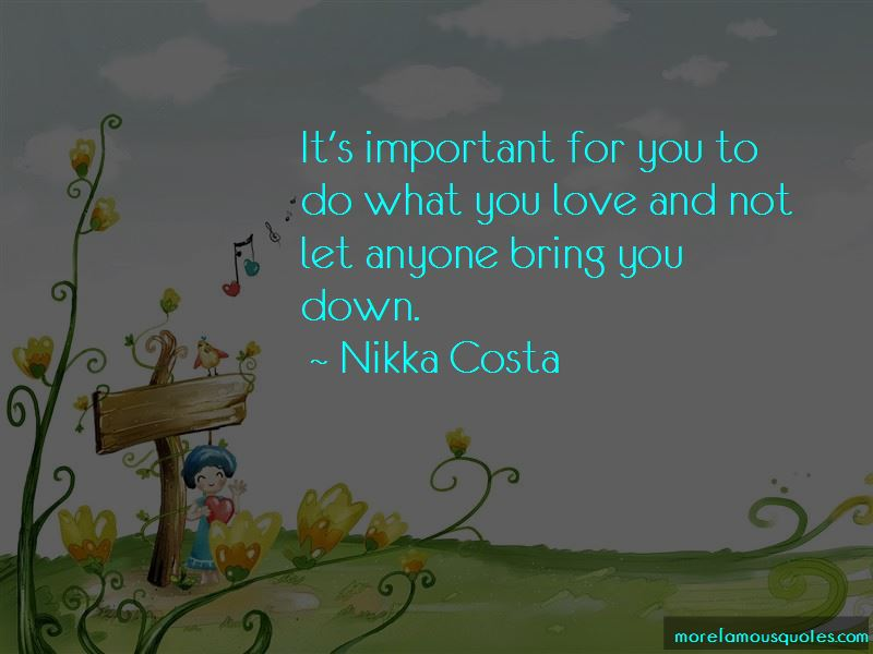 Nikka Costa Quotes Pictures 3