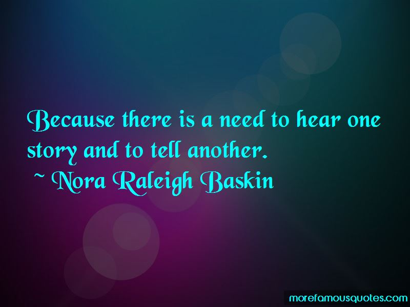Nora Raleigh Baskin Quotes