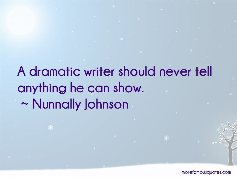 Nunnally Johnson Quotes Pictures 3