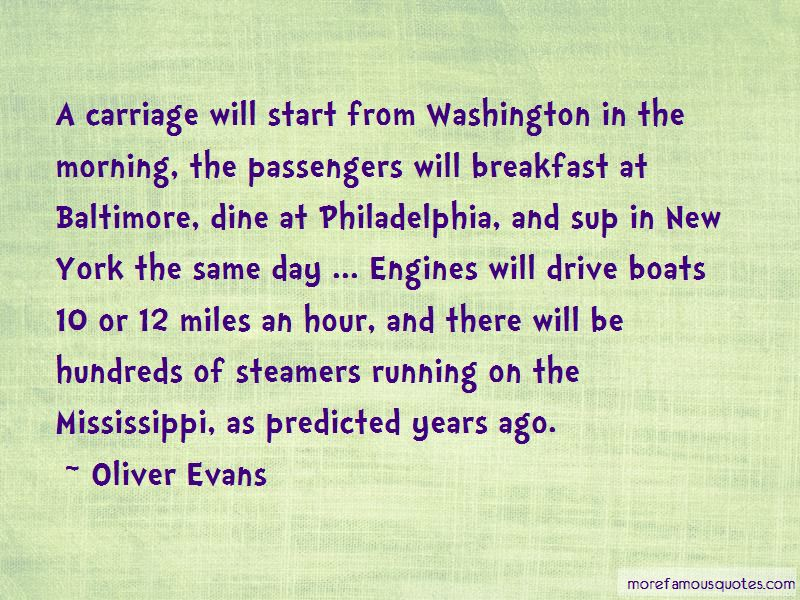Oliver Evans Quotes Pictures 2