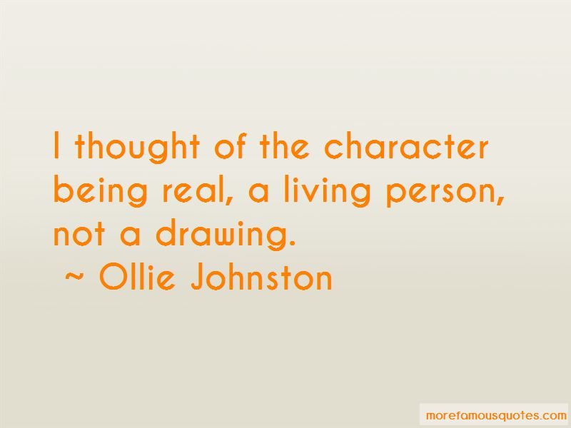 Ollie Johnston Quotes Pictures 3