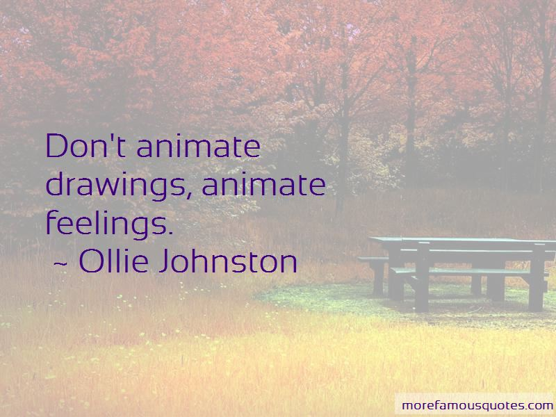 Ollie Johnston Quotes Pictures 4