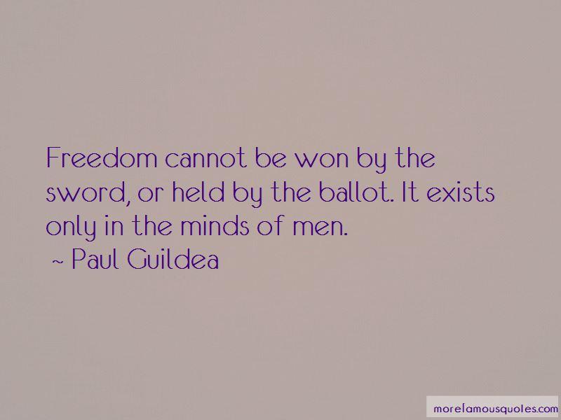 Paul Guildea Quotes Pictures 4