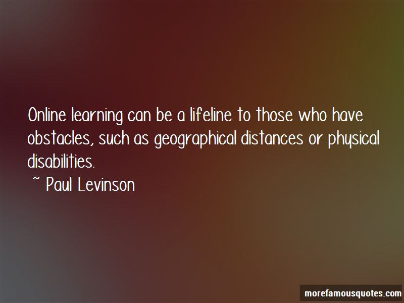 Paul Levinson Quotes