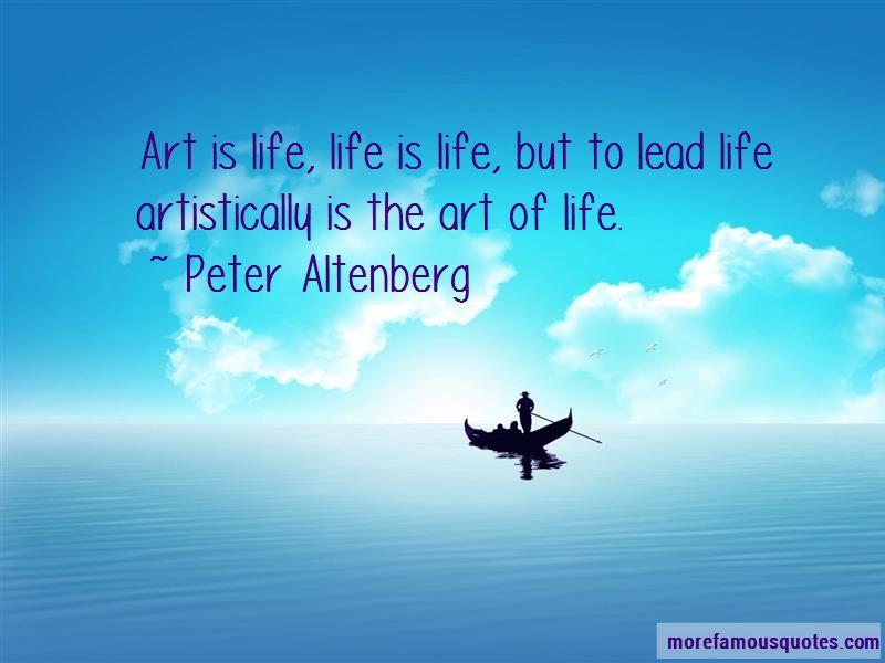 Peter Altenberg Quotes Pictures 3