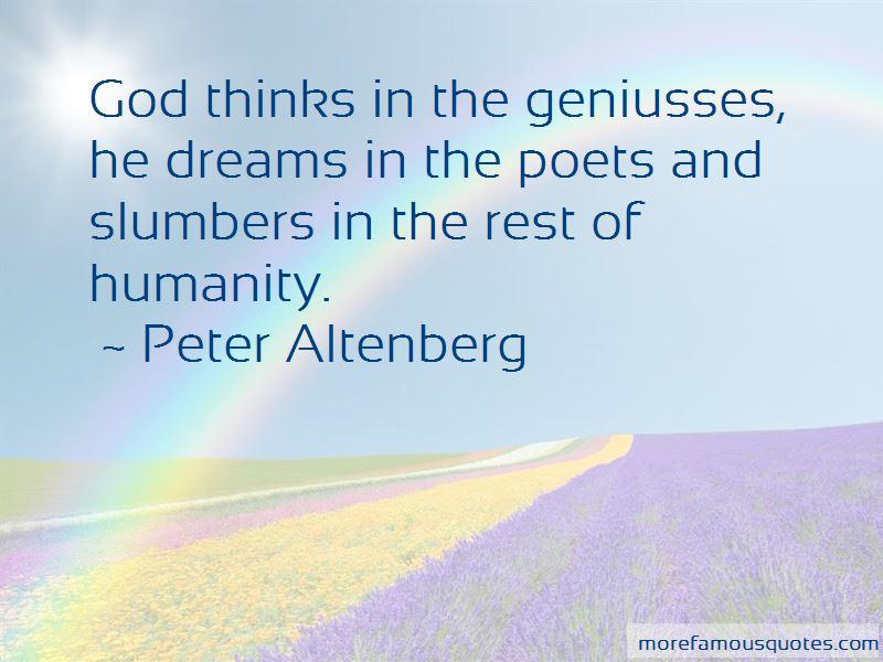 Peter Altenberg Quotes Pictures 4