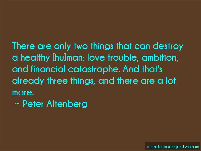 Peter Altenberg Quotes