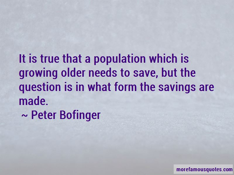 Peter Bofinger Quotes Pictures 3
