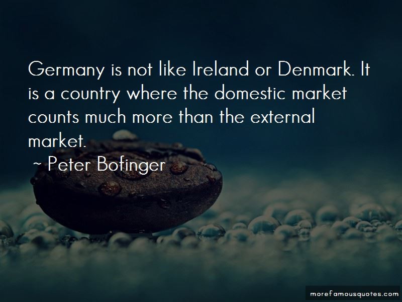 Peter Bofinger Quotes Pictures 4