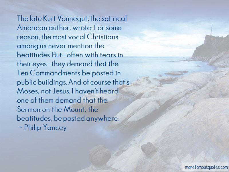 Philip Yancey Quotes