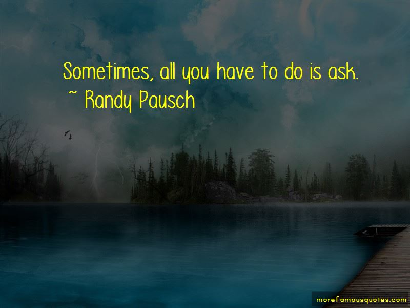 Randy Pausch Quotes Pictures 4