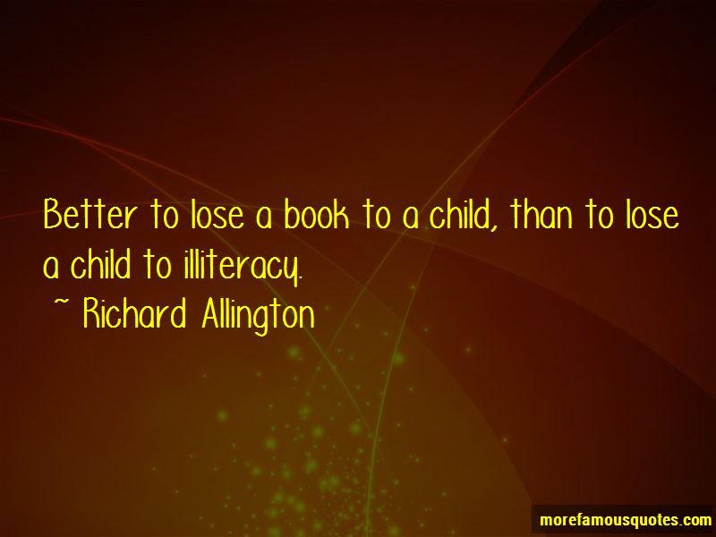 Richard Allington Quotes
