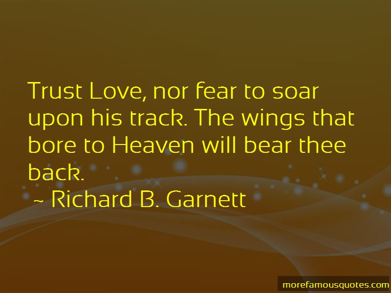 Richard B. Garnett Quotes Pictures 2