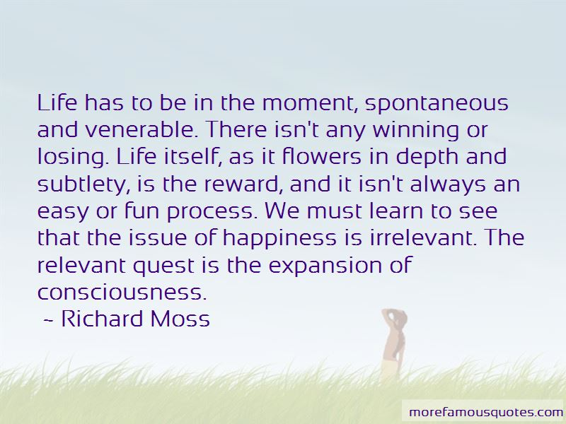 Richard Moss Quotes Pictures 4