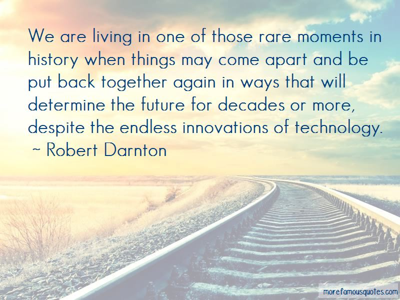 Robert Darnton Quotes Pictures 2