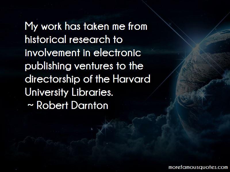 Robert Darnton Quotes Pictures 4