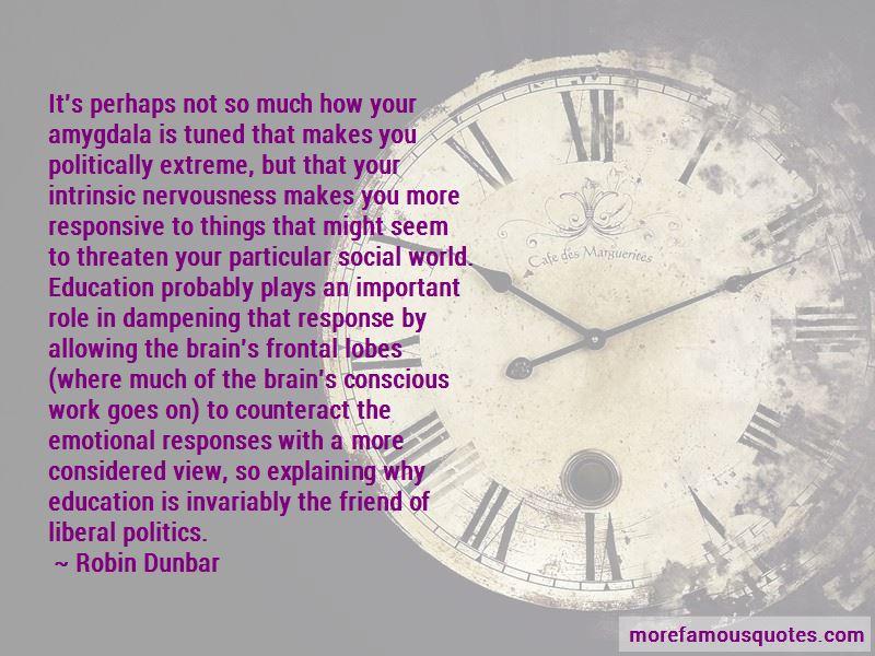 Robin Dunbar Quotes