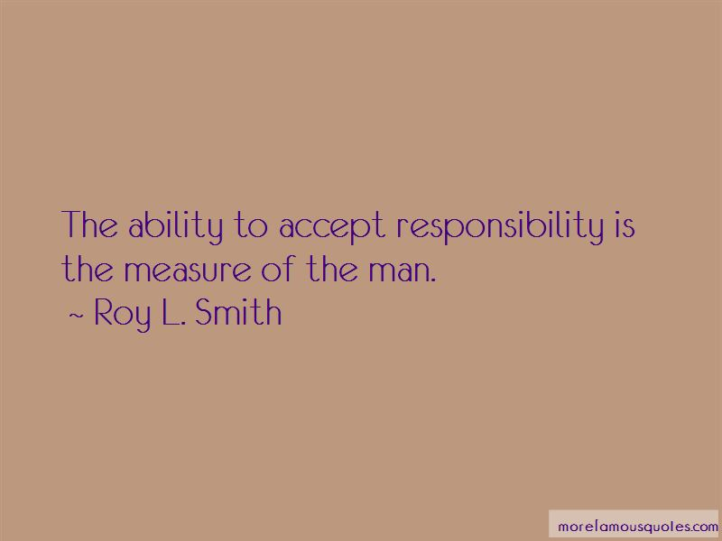 Roy L. Smith Quotes Pictures 2