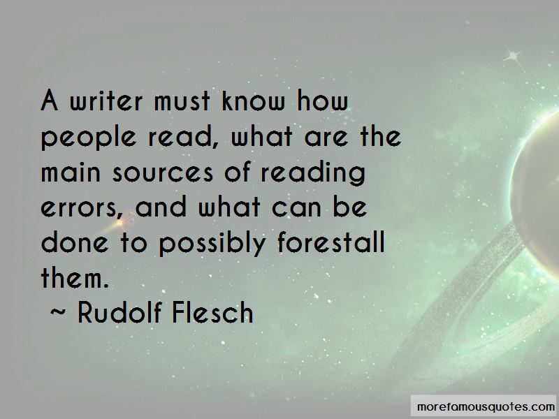 Rudolf Flesch Quotes Pictures 2