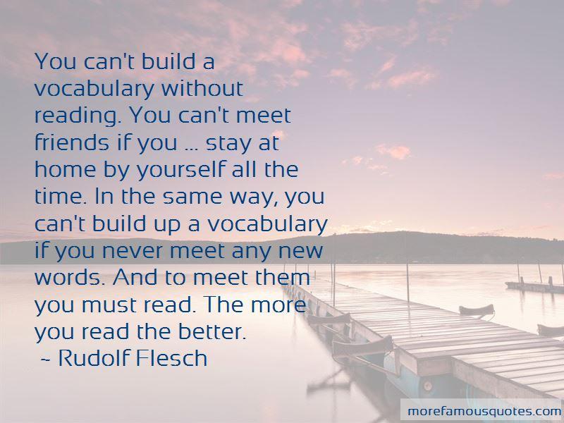 Rudolf Flesch Quotes