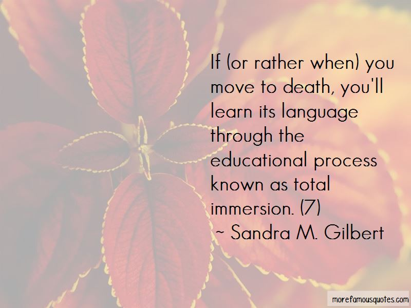 Sandra M. Gilbert Quotes Pictures 2