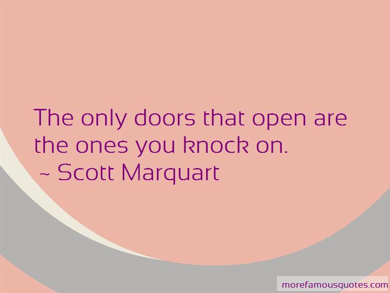 Scott Marquart Quotes
