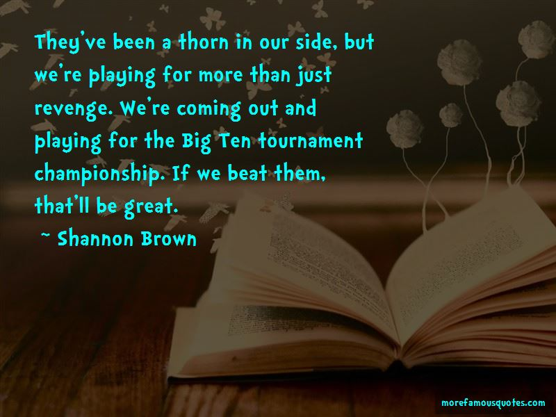 Shannon Brown Quotes Pictures 2