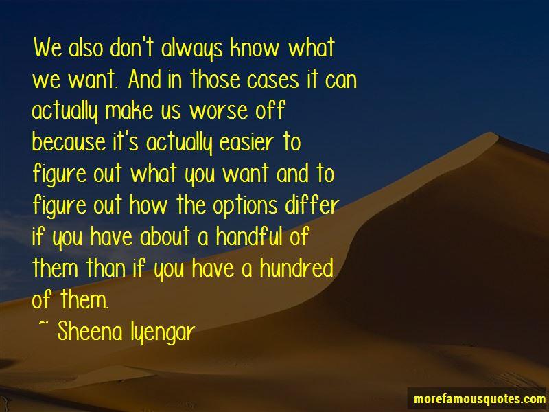 Sheena Iyengar Quotes