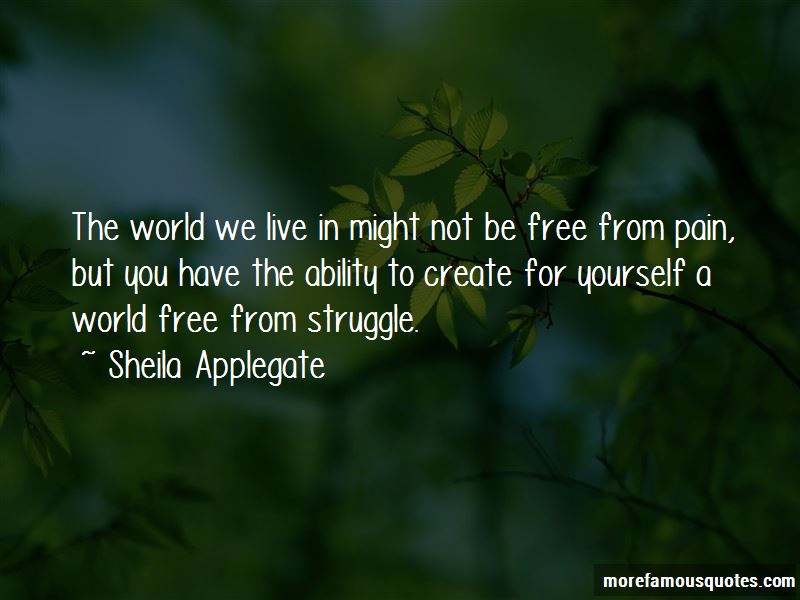 Sheila Applegate Quotes