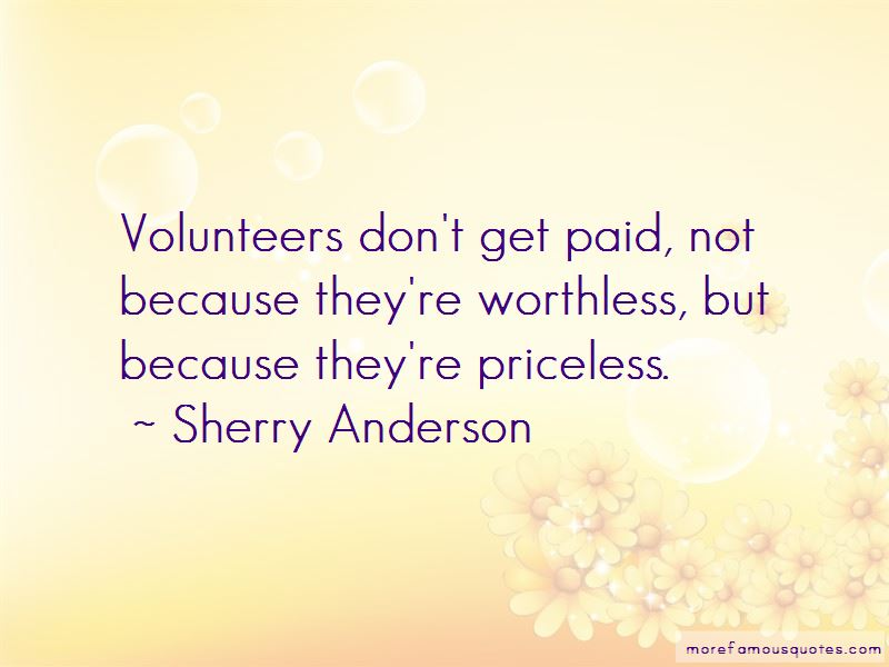 Sherry Anderson Quotes