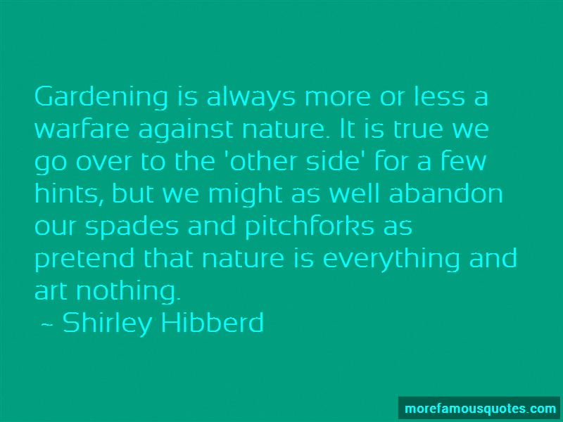 Shirley Hibberd Quotes