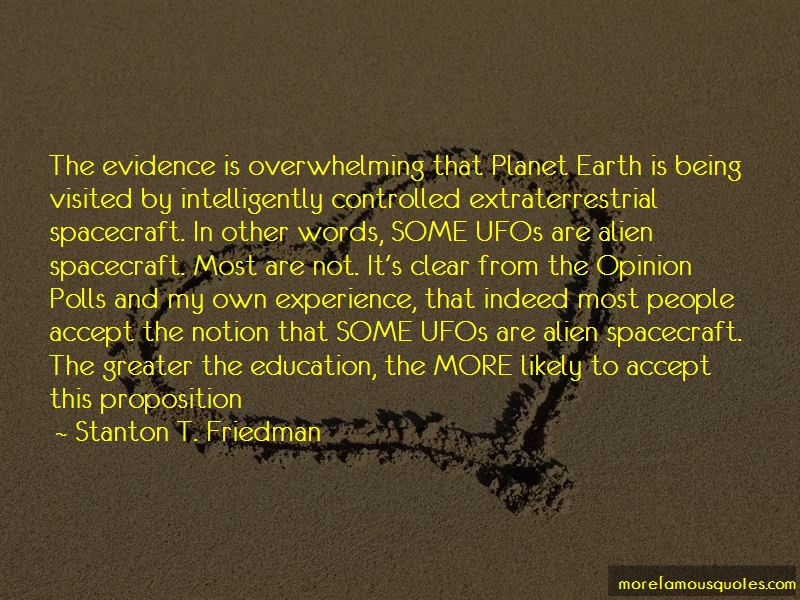 Stanton T. Friedman Quotes Pictures 2