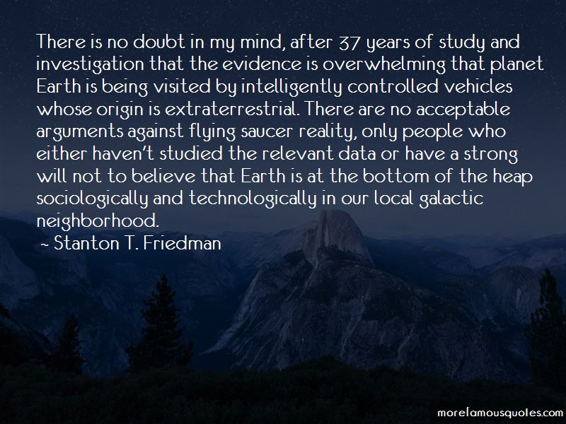 Stanton T. Friedman Quotes Pictures 4