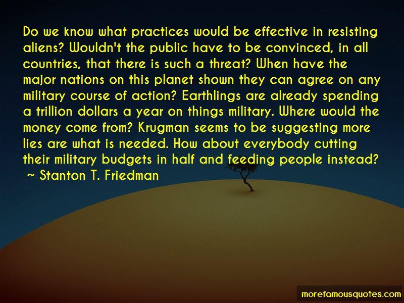 Stanton T. Friedman Quotes
