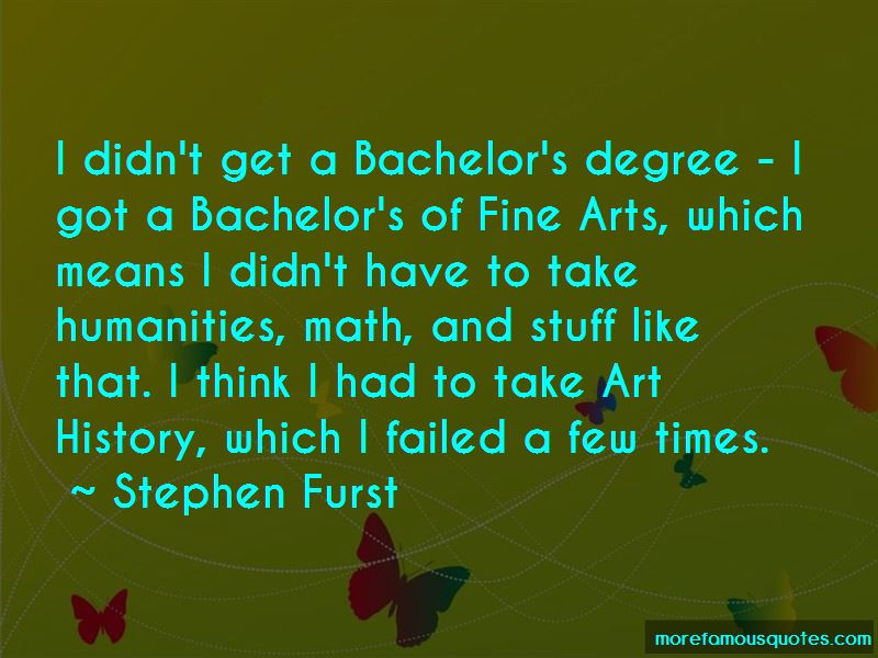 Stephen Furst Quotes Pictures 3
