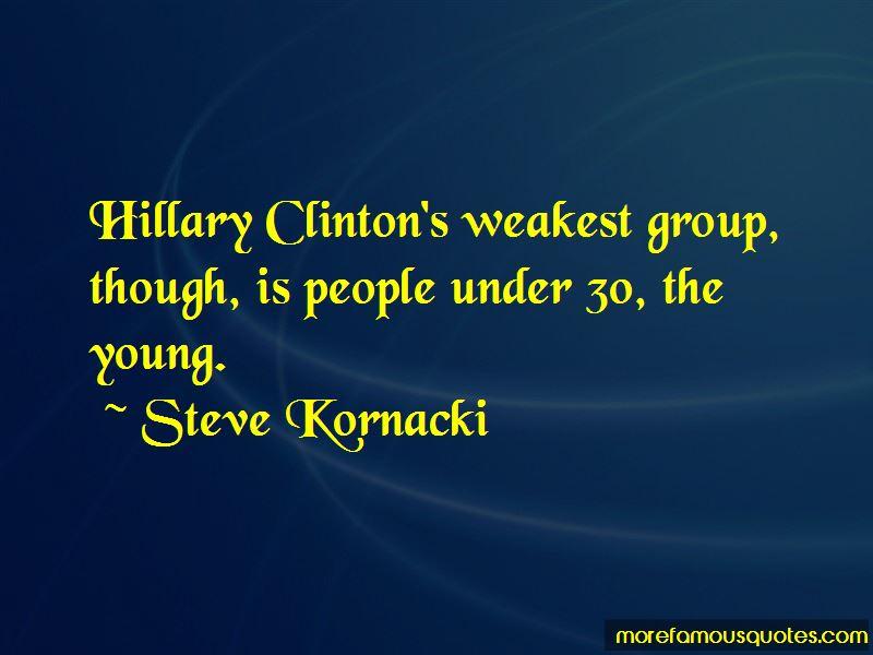 Steve Kornacki Quotes