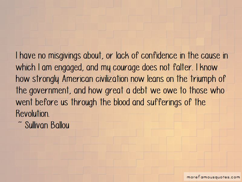 Sullivan Ballou Quotes