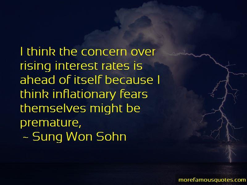Sung Won Sohn Quotes