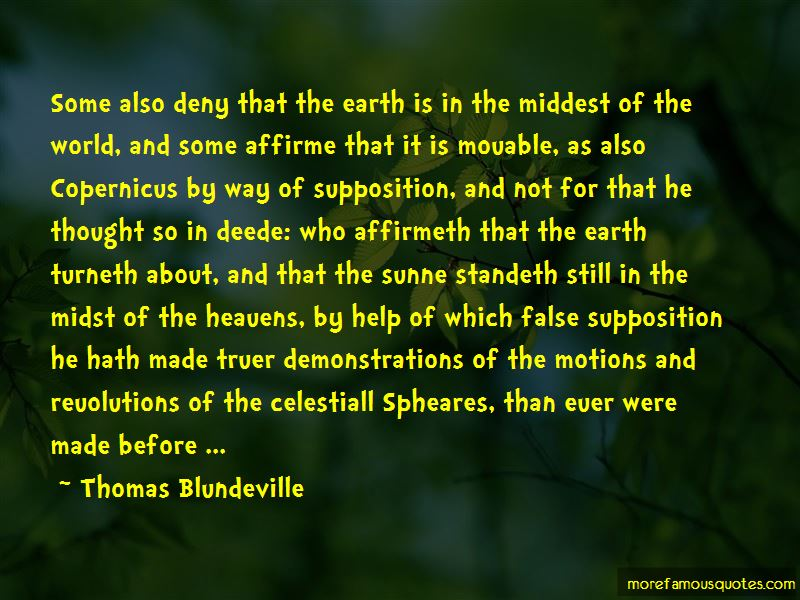 Thomas Blundeville Quotes Pictures 2